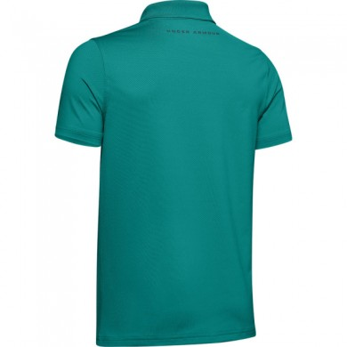 Under Armour chlapecké  golfové triko Performance Polo 2.0 Teal Rush, L