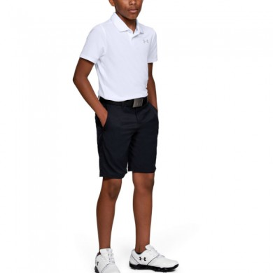 Under Armour chlapecké  golfové triko Performance Polo 2.0 White, L