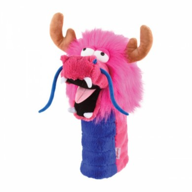 Driver Headcovers Daphne's Pink Dragon