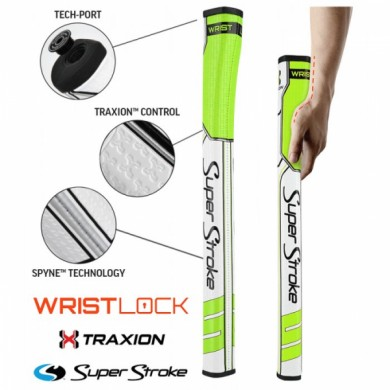 Super Stroke TRAXION Wrist Lock Green/White