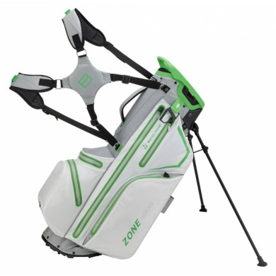 Bennington Stand bag ZONE Waterproof White / Silver / Lime