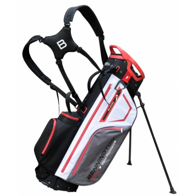 Bennington Stand bag TANTO 14 Water Resistant Black / White / Grey / Red