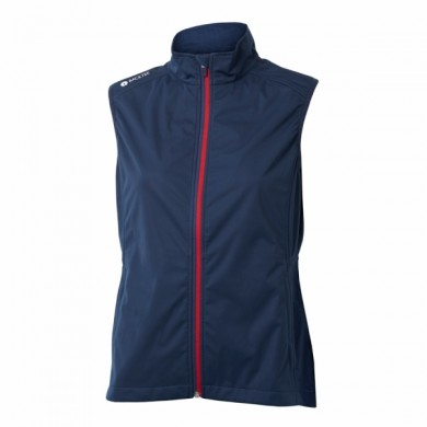 BACKTEE Ladies Ultralight Wind Vest, Navy, vel.L
