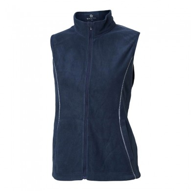 BACKTEE Ladies Fleece Vest, Navy, vel.M