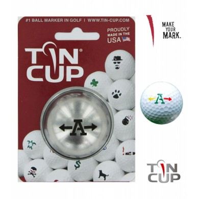 TIN CUP - UNION JACK  Alpha Players - A