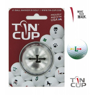 TIN CUP - UNION JACK  Alpha Players - L