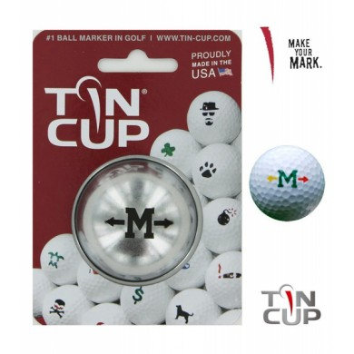 TIN CUP - UNION JACK  Alpha Players - M