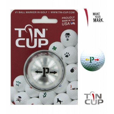 TIN CUP - UNION JACK  Alpha Players - P