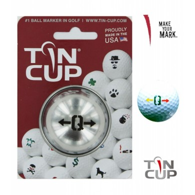 TIN CUP - UNION JACK  Alpha Players - Q
