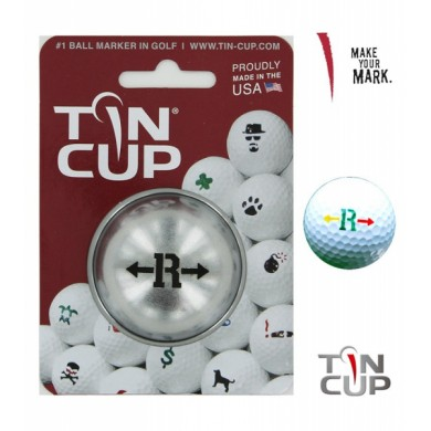 TIN CUP - UNION JACK  Alpha Players - R