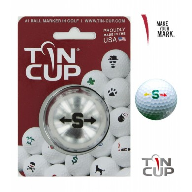 TIN CUP - UNION JACK  Alpha Players - S