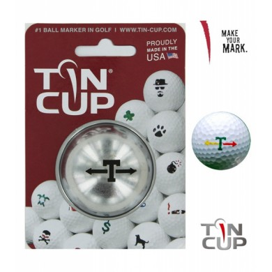 TIN CUP - UNION JACK  Alpha Players - T