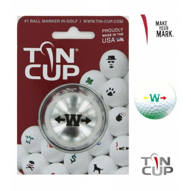 TIN CUP - UNION JACK  Alpha Players - W
