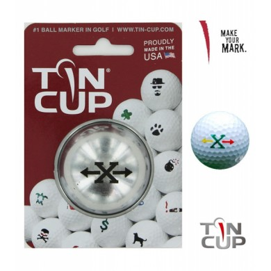 TIN CUP - UNION JACK  Alpha Players - X