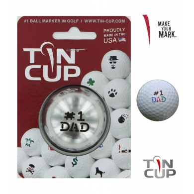 Tin Cup Logo Series Number 1 Dad