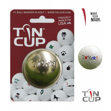 Tin Cup Logo Series Out Of Bounds