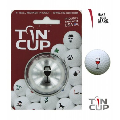 Tin Cup Logo Series Bordeaux