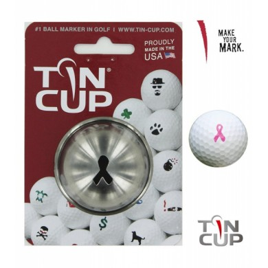 Tin Cup Logo Series Breast Cancer Awareness