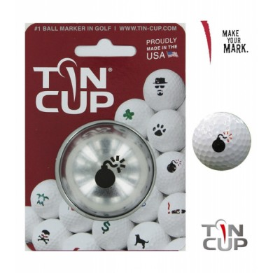 Tin Cup Logo Series Bombs Away