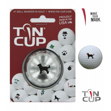 Tin Cup Logo Series Dulin The Dog