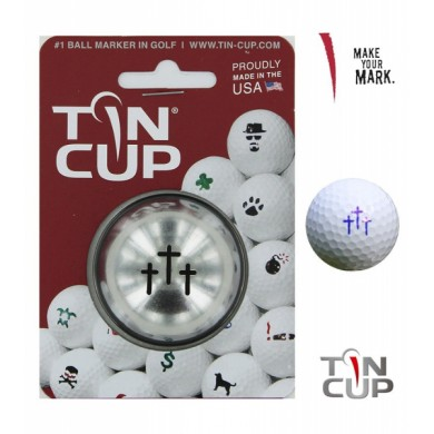 Tin Cup Logo Series Divine Intervention