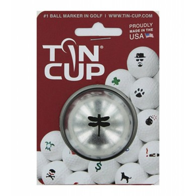 Tin Cup Logo Series Dragonfly