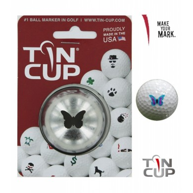 Tin Cup Logo Series Butterfly