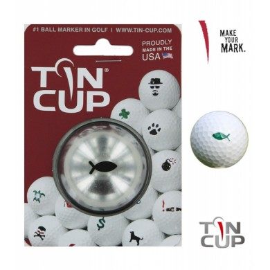 Tin Cup Logo Series Gone Fishing