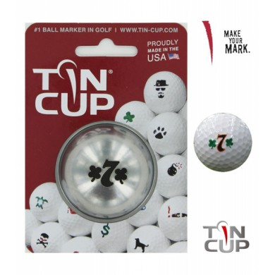 Tin Cup Logo Series Lucky 7