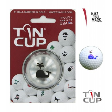 Tin Cup Logo Series Moby