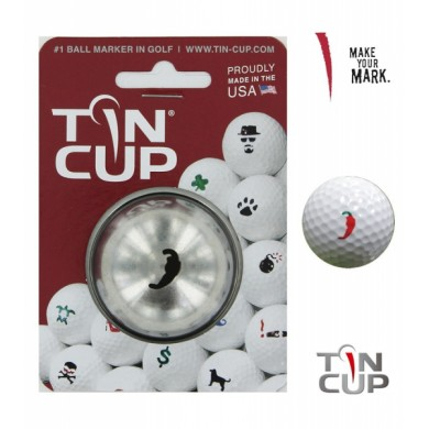 Tin Cup Logo Series Peppah