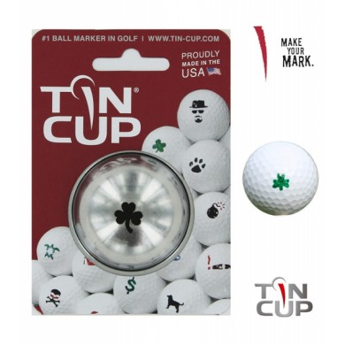 Tin Cup Logo Series Shamrock