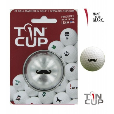 Tin Cup Logo Series Stache