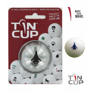 Tin Cup Logo Series Top Gun