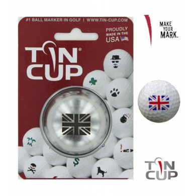 Tin Cup Logo Series Unio flag