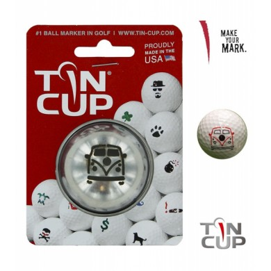 Tin Cup Logo Series Woodstock