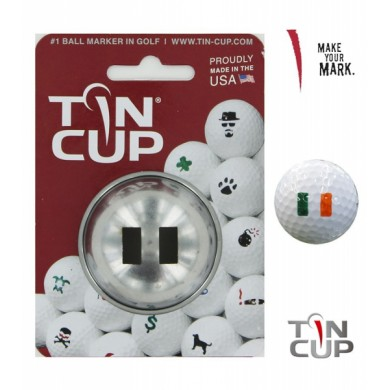 Tin Cup Logo Series World Flags
