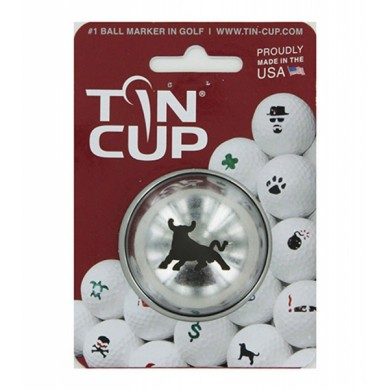 Tin Cup Logo Series Bull