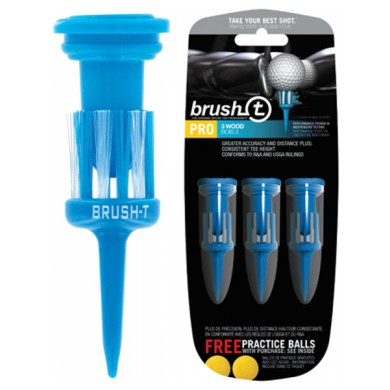 BRUSH TEE IN BULLETPACK BLUE 52MM