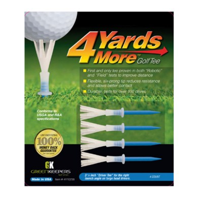 GOLF TEE 4YDS  MORE - Driver Tee