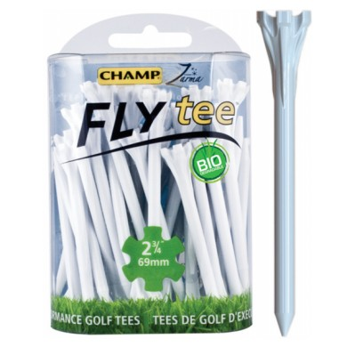 CHAMP FLY TEES 2 3/4 INCH WHITE 30