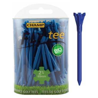 CHAMP FLY TEES  - Blue 2 3/4 69mm