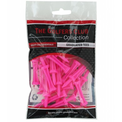 STEP TEES PINK (25 PCS) IN BOX OF 25 PACKS
