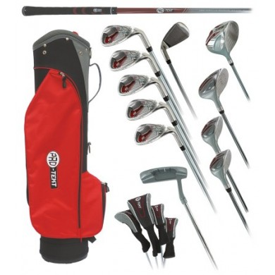 PRO-TEKT BOX SET LADY GRAPHITE CART BAG