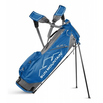 Sun Mountain 2018 Two-5 Plus Stand bag Grey/Cobalt