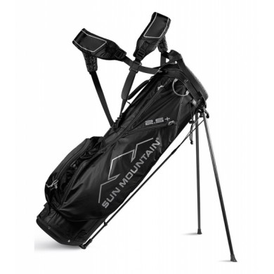 Sun Mountain 2018 Two-5 Plus Stand bag Black (pro leváky)