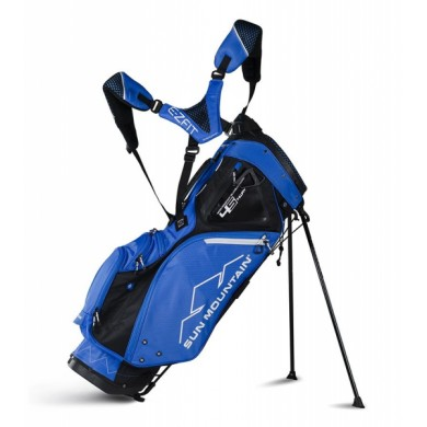 Sun Mountain 2018 Four-5 LS 14-Way Stand Bag Black/Cobalt