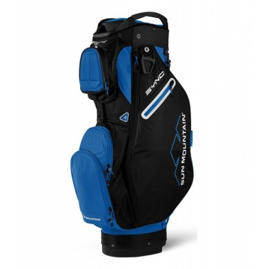 Sun Mountain 2018 SYNC Cart Bag Cobalt/Black
