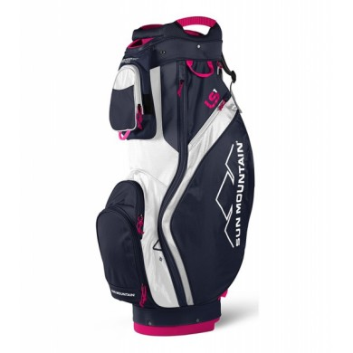 Sun Mountain 2018 LS1 Cart Bag Navy/White/Hot Pink
