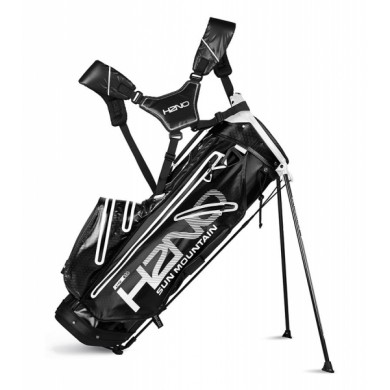 Sun Mountain 2018 H2NO Lite Stand Bag Black/White